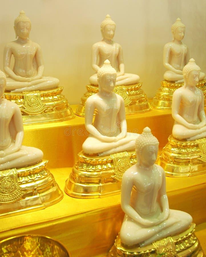 Estatuas De Buddha Fotos de archivo libres de regalías
