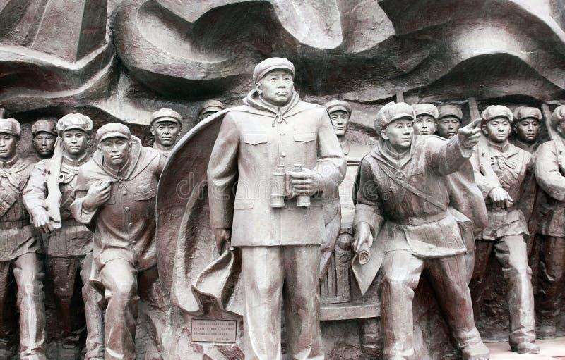 Estatuas de la Guerra de Corea imagen de archivo libre de regalías