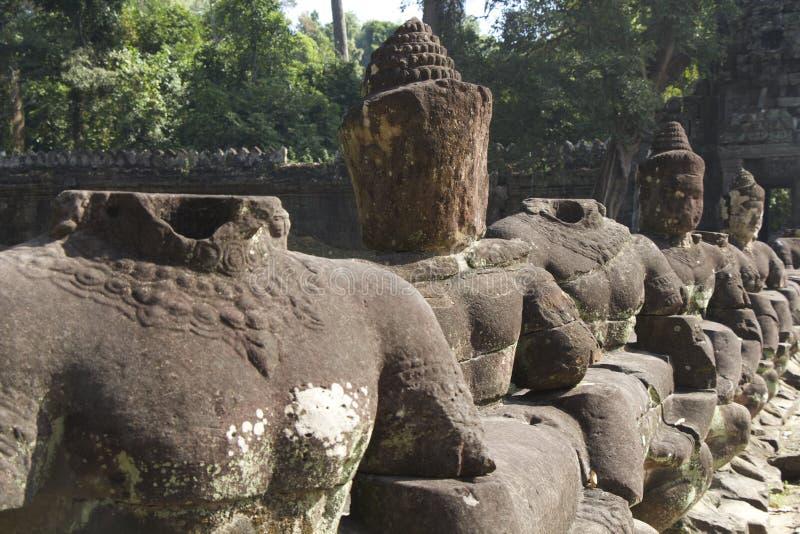 Estatuas de piedra imagen de archivo libre de regalías