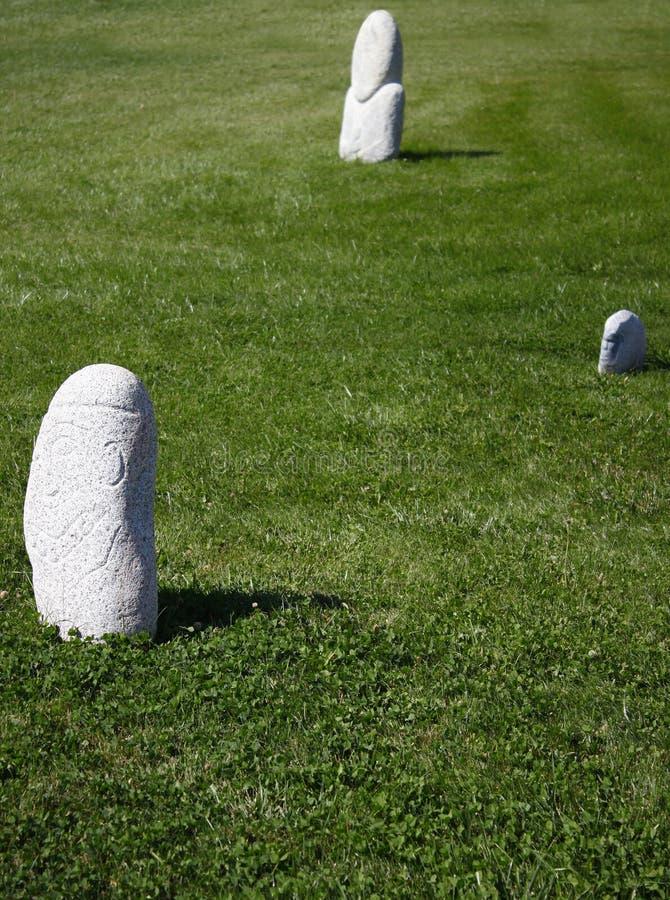 Estatuas de piedra imágenes de archivo libres de regalías
