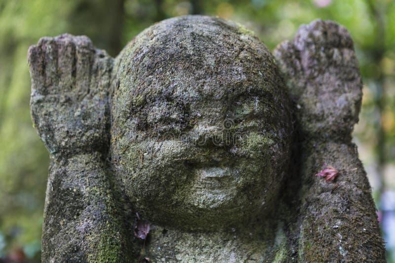 Estatuas de piedra de Buda fotos de archivo