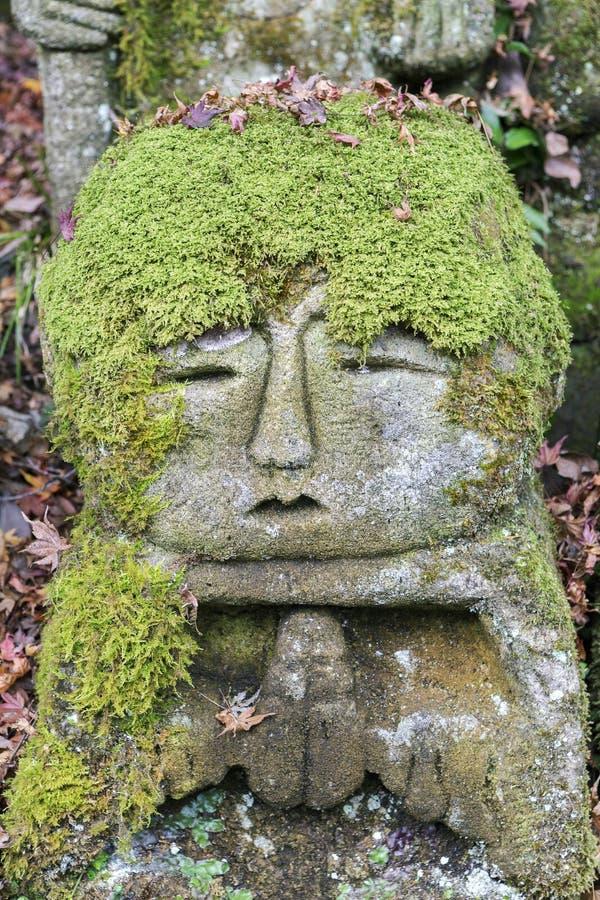 Estatuas de piedra de Buda fotografía de archivo