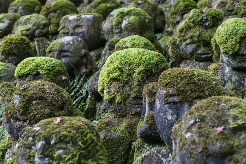 Estatuas de piedra de Buda foto de archivo libre de regalías