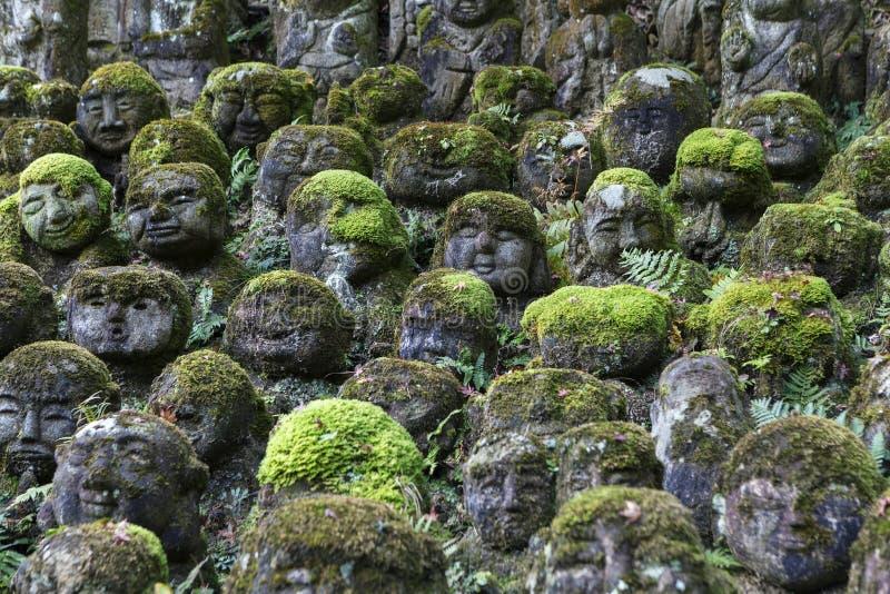Estatuas de piedra de Buda imagen de archivo
