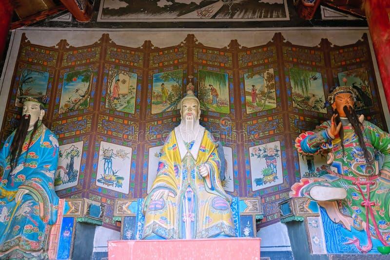 Estatuas del immortal del Taoist fotos de archivo