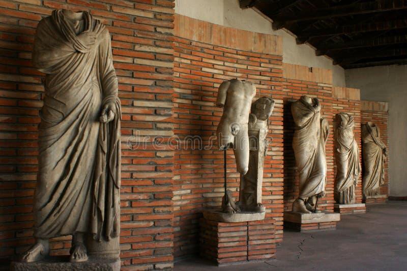 estatuas Griego-romanas, Albania imagen de archivo