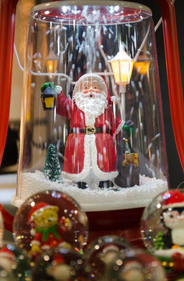 Estatueta de Santa Claus imagem de stock royalty free