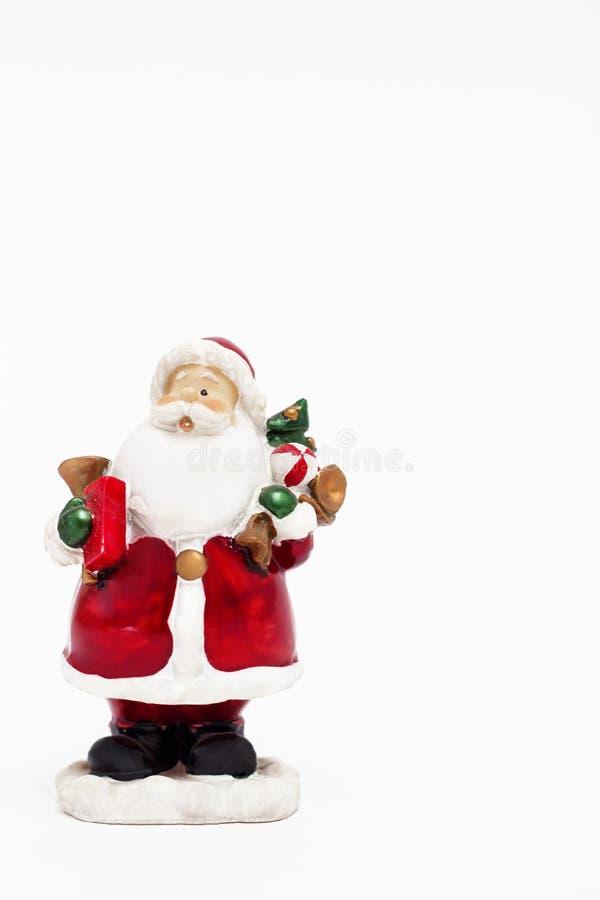 Estatueta de Santa Claus fotos de stock royalty free