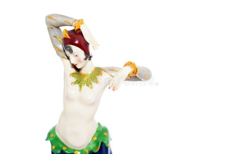 Estatueta de um dançarino dos anos 20 foto de stock