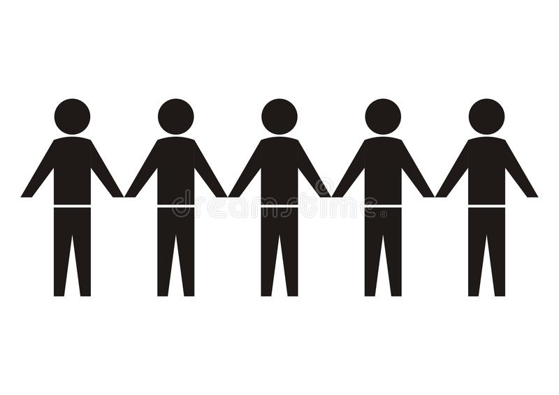 Estatuetas, pictograma ilustração royalty free