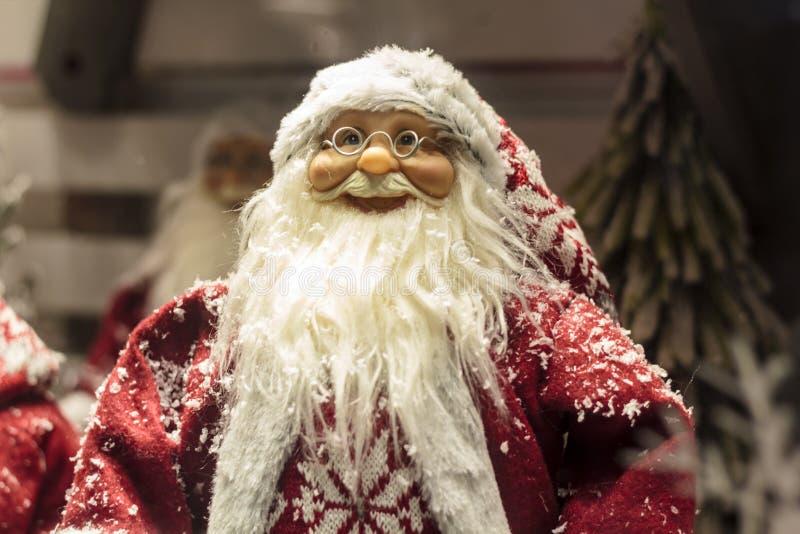 Estatuilla de Santa Claus fotografía de archivo