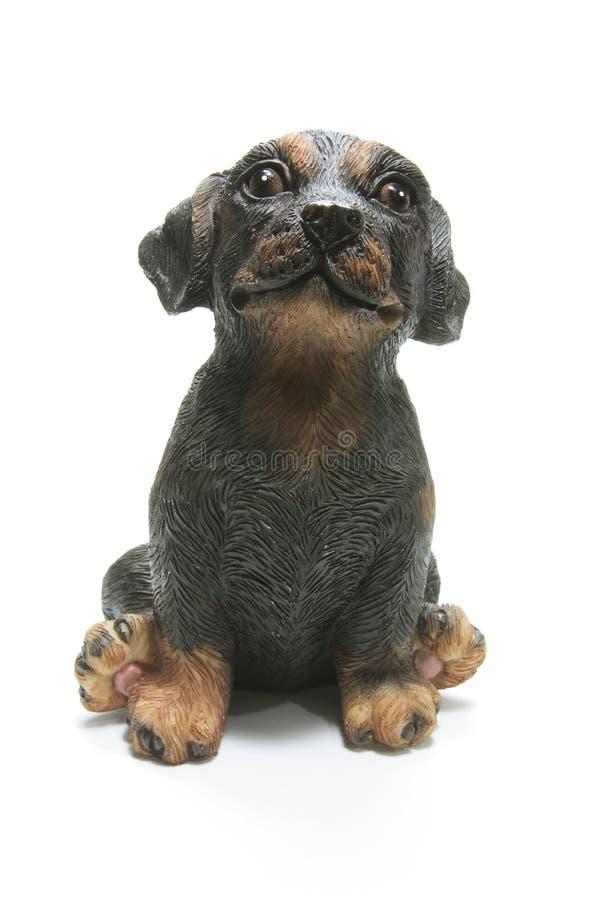 Estatuilla del perro fotos de archivo