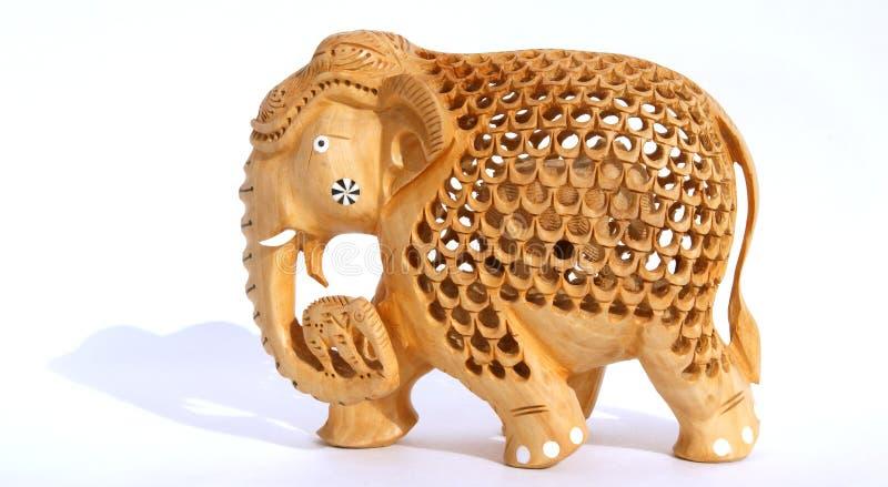 Estatuilla india del recuerdo de un elefante fotografía de archivo libre de regalías