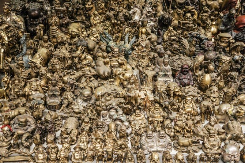 Estatuillas de Buda imágenes de archivo libres de regalías