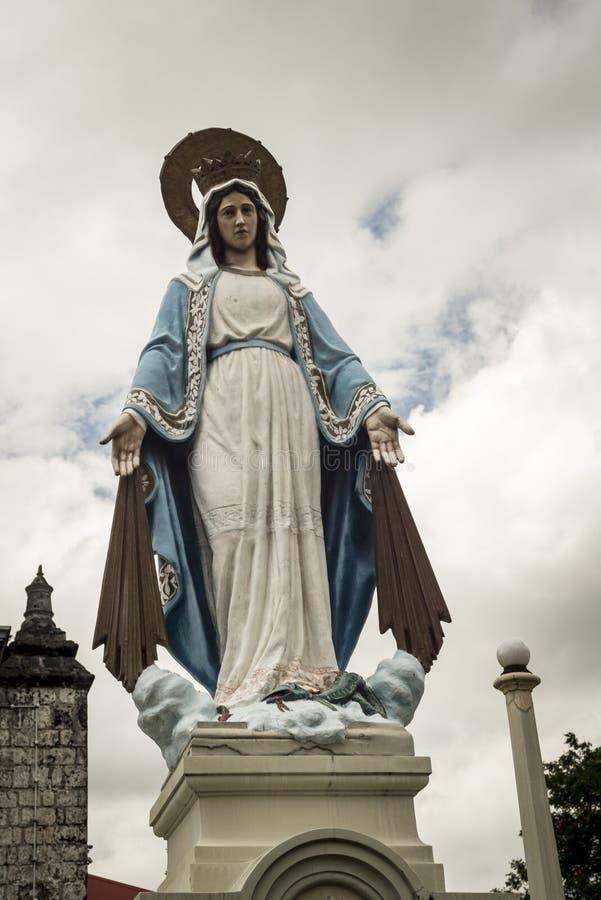Estatuto de Mary de Virgin fotografia de stock
