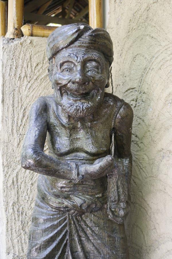 Estatuto del café de Luwak del Balinese imagenes de archivo