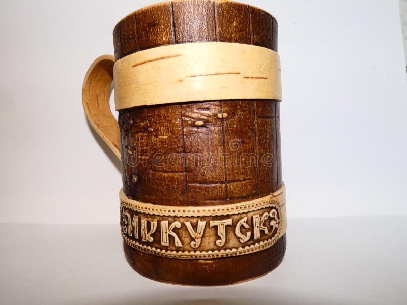 este é um copo de irkutsk/Rússia fotos de stock
