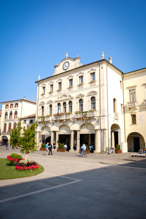 Este Ιταλία Palazzo del Municipio στοκ εικόνες