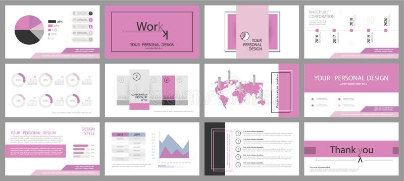Este molde é o melhor como uma apresentação do negócio, usada no mercado e a propaganda, o inseto e a bandeira, o informe anual c ilustração stock