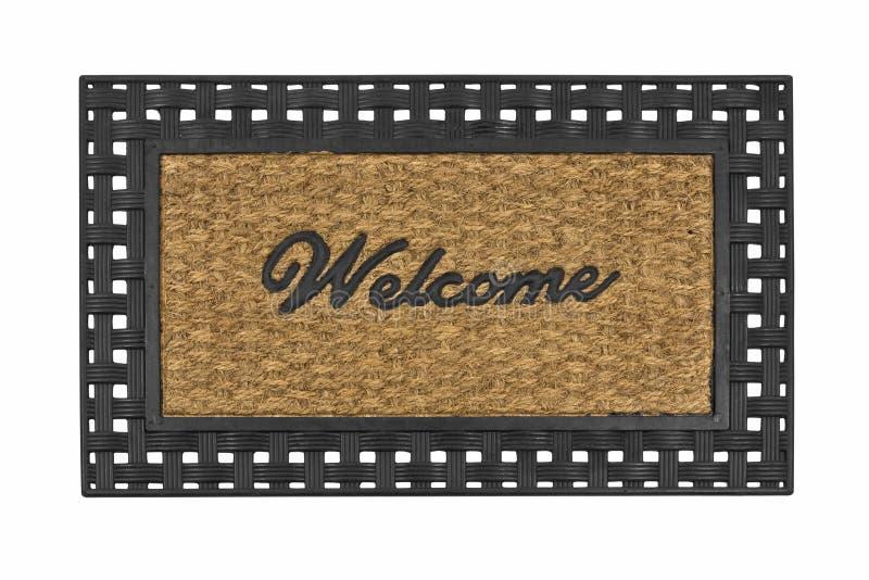 Esteira bem-vinda foto de stock royalty free