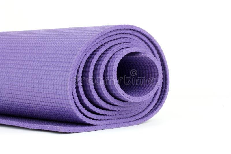 Esteira da ioga fotografia de stock royalty free