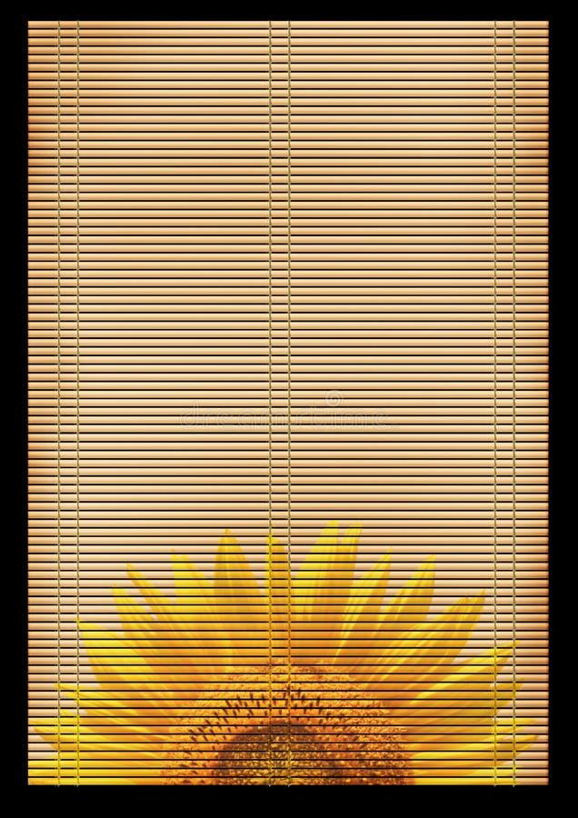 Esteira de lingüeta japonesa antiga ilustração royalty free