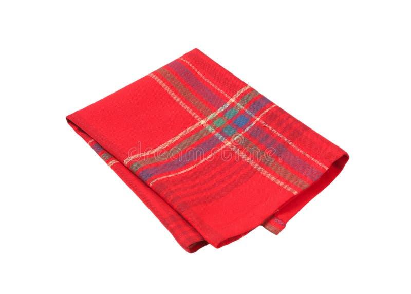 Esteira de lugar vermelha e azul fotografia de stock royalty free