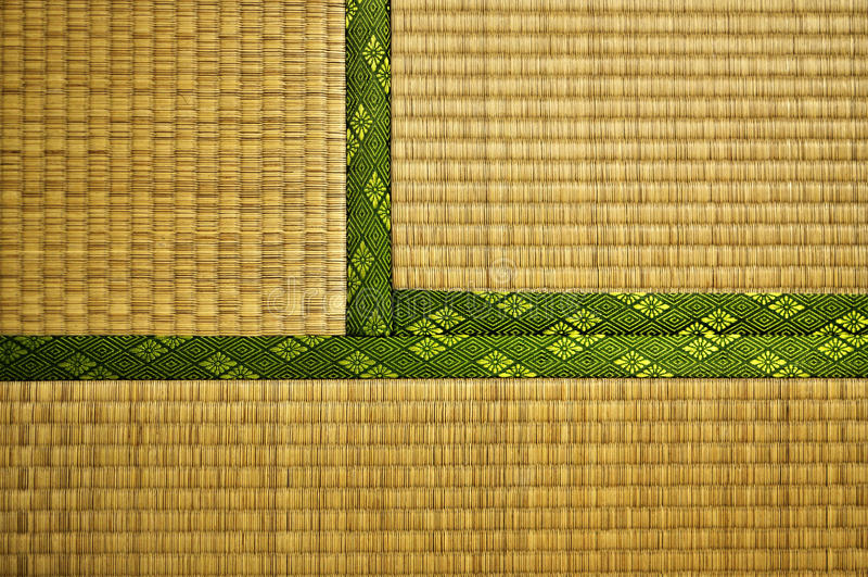Esteira de Tatami fotos de stock