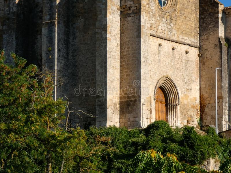 Estella, population of the autonomous community of Navarra, Spain. Estella, population of passage of pilgrims who make the French Way of the Way of Santiego royalty free stock photo