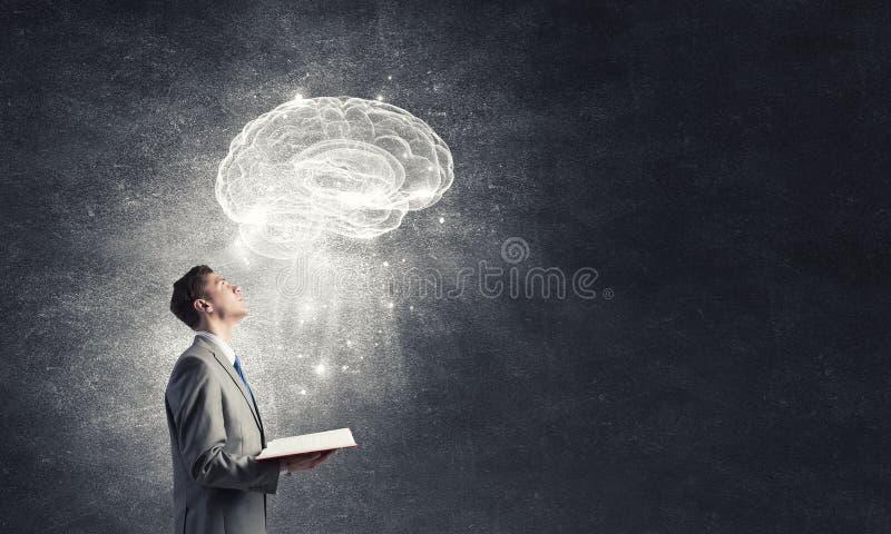 Estenda la vostra mente immagini stock libere da diritti