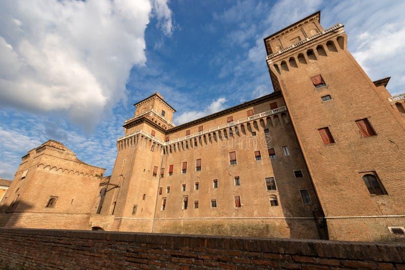 Estense Castle - φερράρα Αιμιλία-Ρωμανία - Ιταλία στοκ φωτογραφίες με δικαίωμα ελεύθερης χρήσης