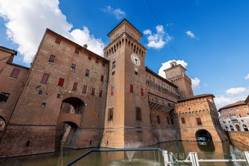 Estense Castle της φερράρα Αιμιλία-Ρωμανία - της Ιταλίας στοκ εικόνες