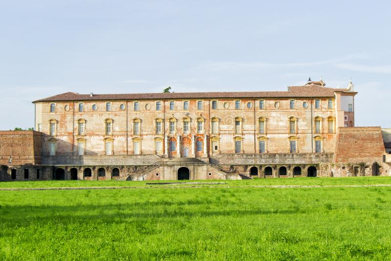 Estensi hertogelijk paleis in Sassuolo, dichtbij Modena, Italië royalty-vrije stock afbeeldingen
