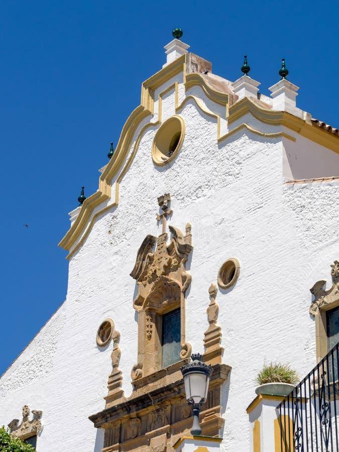 ESTEPONA, ANDALUCIA/SPAIN - 5 ΜΑΐΟΥ: Εκκλησία Nuestra Senora de στοκ φωτογραφία με δικαίωμα ελεύθερης χρήσης