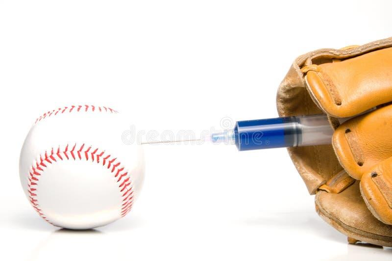 Esteróides do basebol fotos de stock