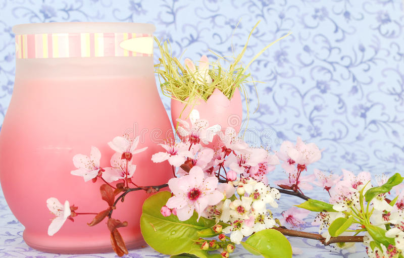 Download Ester Composition With Easter Egg Stock Image - Image: 13385159