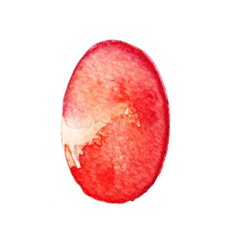 Ester Egg Water-Farbe vektor abbildung