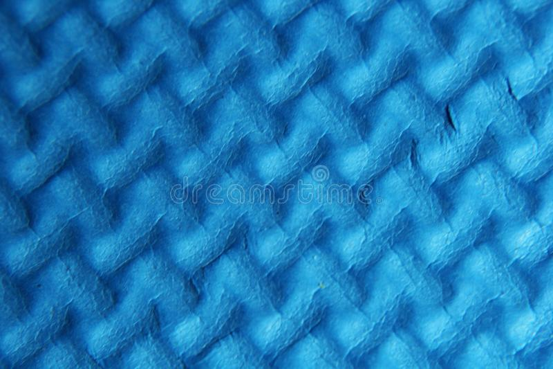 Estera azul de la espuma fotos de archivo