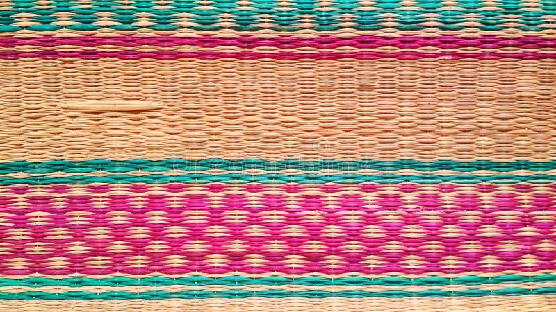 Estera colorida imagen de archivo libre de regalías