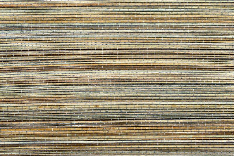 Estera de bambú, un fondo foto de archivo