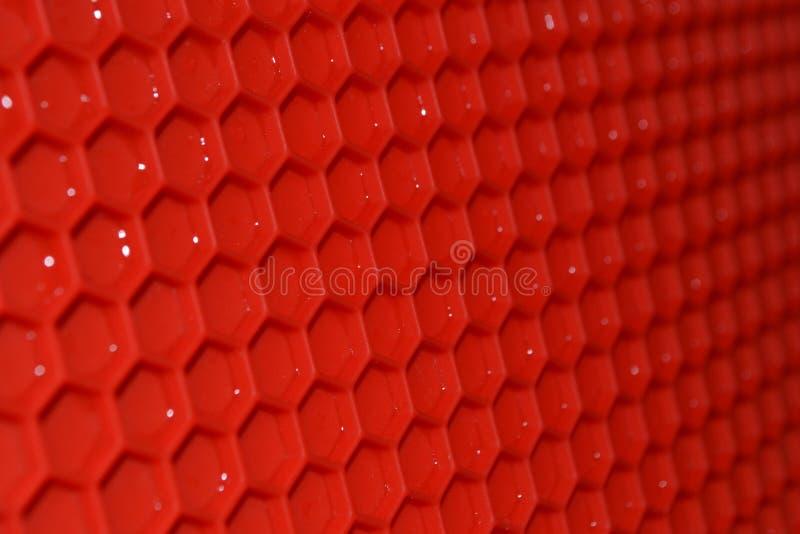 Estera de goma roja foto de archivo libre de regalías