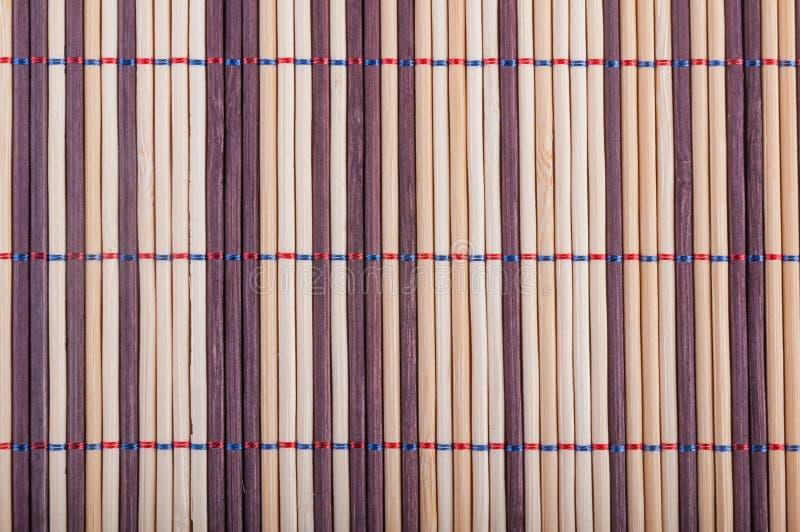 Esteras de bambú foto de archivo libre de regalías