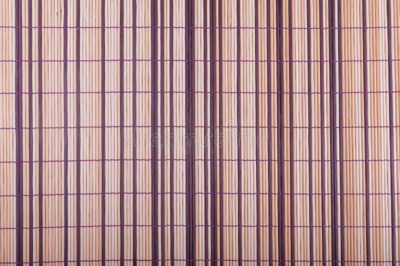 Esteras de bambú fotografía de archivo libre de regalías