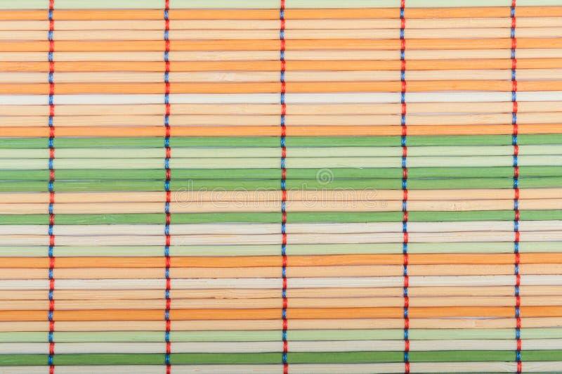 Esteras de bambú imagen de archivo libre de regalías