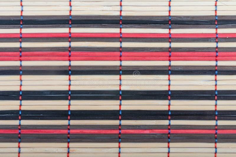 Esteras de bambú fotos de archivo libres de regalías
