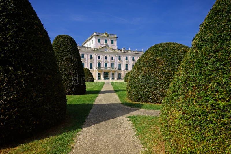 Esterhazy slott, Fertoed, Ungern arkivbilder