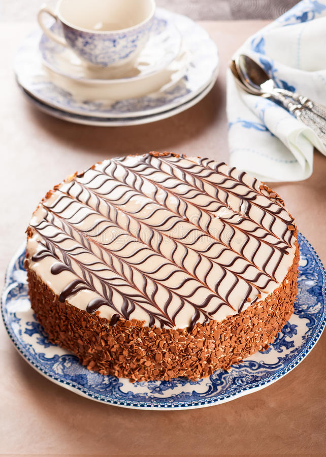 Esterhazy Torte royaltyfria foton