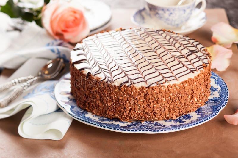 Esterhazy Torte royaltyfria bilder