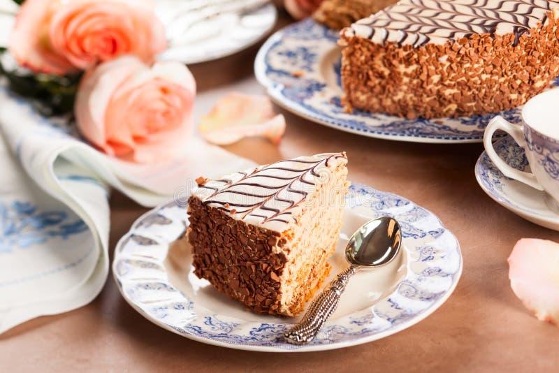 Esterhazy Torte royaltyfri foto