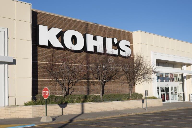 Esterno del grande magazzino di Kohl immagine stock